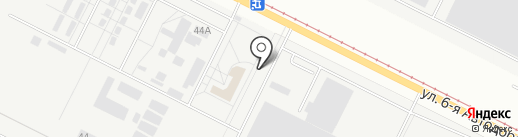 Автохимпро на карте Волжского