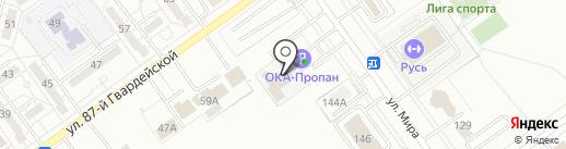 Автоателье на карте Волжского