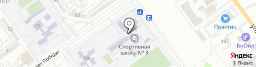 Школа-интернат им. 37 Гвардейской стрелковой дивизии на карте Волжского