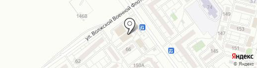 Покупочка на карте Волжского