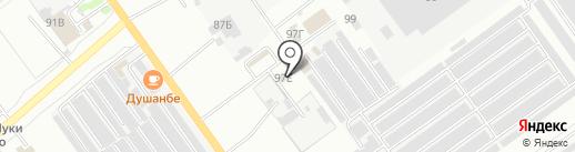 АвтоГазСервис на карте Волжского