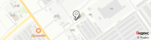 Фаворит-авто на карте Волжского