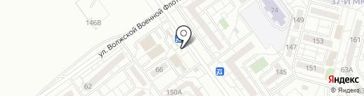 О-Ля-Ля на карте Волжского