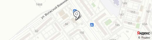 Свояк на карте Волжского