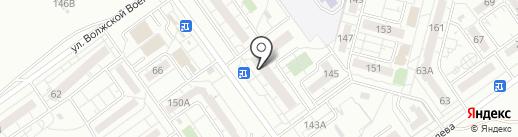 Весна на карте Волжского