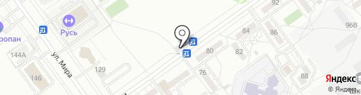 Стильный дом на карте Волжского