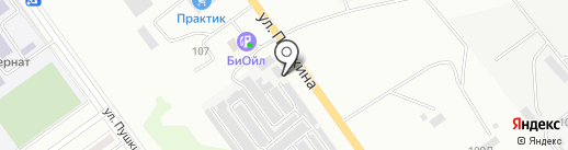 Столовая на карте Волжского