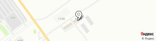 Юнком на карте Волжского