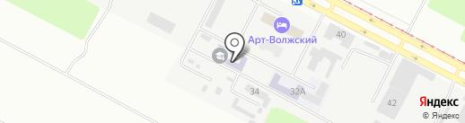 Волгоградский медико-экологический техникум на карте Волжского