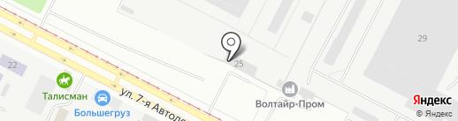 Волтайр-Гард на карте Волжского