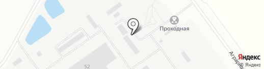 Волжская ТЭЦ-2 на карте Волжского