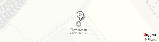 Пожарная часть №33 на карте Волжского