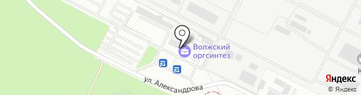 Почтовое отделение №17 на карте Волжского