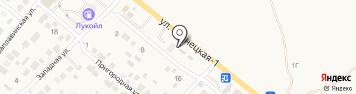 Шиномонтажная мастерская на карте Средней Ахтубы