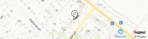 Лидер-Н на карте Средней Ахтубы