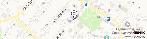 Среднеахтубинский учебный спортивно-технический клуб на карте Средней Ахтубы