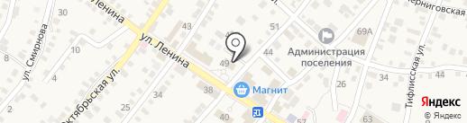 Отделение пенсионного фонда РФ по Волгоградской области на карте Средней Ахтубы