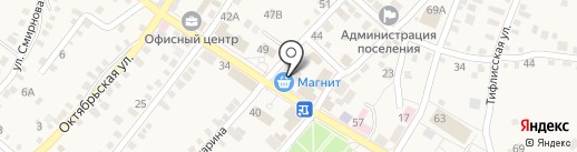 Магазин игрушек на карте Средней Ахтубы
