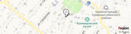 БАРС на карте Средней Ахтубы