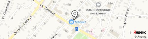 Магнит косметик на карте Средней Ахтубы
