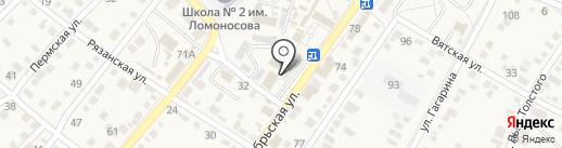 Банкомат, Сбербанк, ПАО на карте Средней Ахтубы