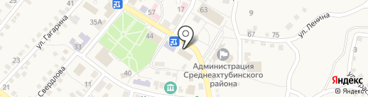 Волгоградское областное архитектурно-планировочное бюро на карте Средней Ахтубы