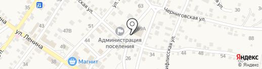 Хороший-М на карте Средней Ахтубы