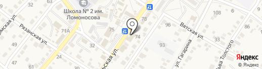 Московская ярмарка на карте Средней Ахтубы