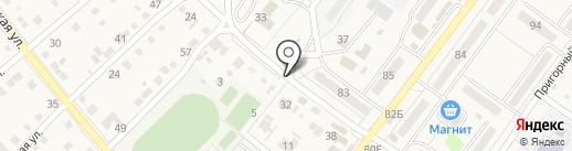 Магазин фастфудной продукции на карте Средней Ахтубы