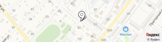 Парикмахерская на карте Средней Ахтубы