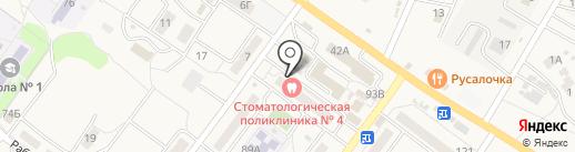 Волгоградская областная клиническая стоматологическая поликлиника на карте Средней Ахтубы