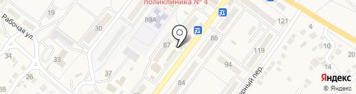 Продуктовый магазин на карте Средней Ахтубы