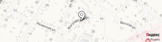 Среднеахтубинская районная станция по борьбе с болезнями животных на карте Средней Ахтубы