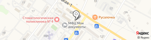 Магазин на Октябрьской на карте Средней Ахтубы