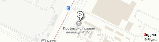 Исправительная колония-12 УФСИН России по Волгоградской области на карте Волжского