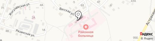 Среднеахтубинская центральная районная больница на карте Средней Ахтубы