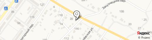 Мастеровой на карте Средней Ахтубы