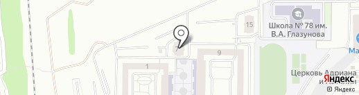 Солод на карте Пензы