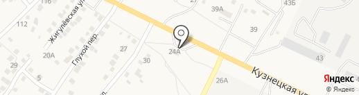 Пивной друг на карте Средней Ахтубы