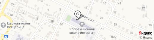 Среднеахтубинская специальная (коррекционная) общеобразовательная школа-интернат VIII вида на карте Средней Ахтубы