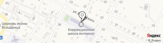 Среднеахтубинская школа-интернат на карте Средней Ахтубы