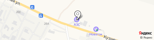 АЗС на карте Средней Ахтубы