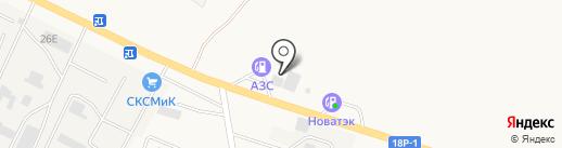 Шиномонтажная мастерская на Кузнецкой на карте Средней Ахтубы