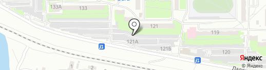 Авто Тонер на карте Пензы