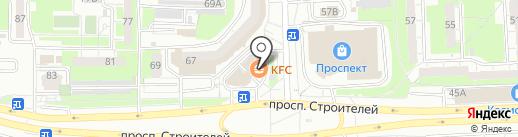 KFC на карте Пензы