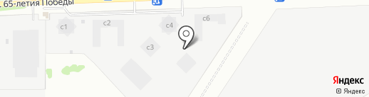 Арбековский парк на карте Пензы