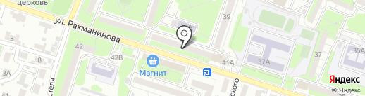 СтройТан на карте Пензы