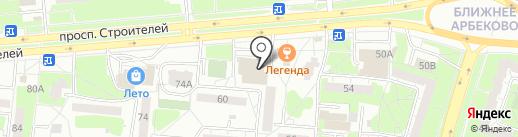 Городская стоматологическая поликлиника на карте Пензы
