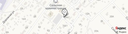 Мичуринский на карте Мичуринского