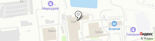 ТРАК СТО58 на карте Пензы